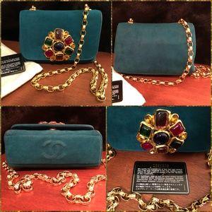 CHANEL VTGKarl Lagerfeld/Jeweled Evening Bag 89-91